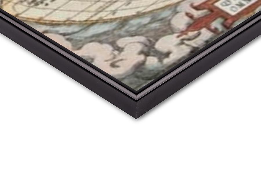 World Map - Historical Art Print