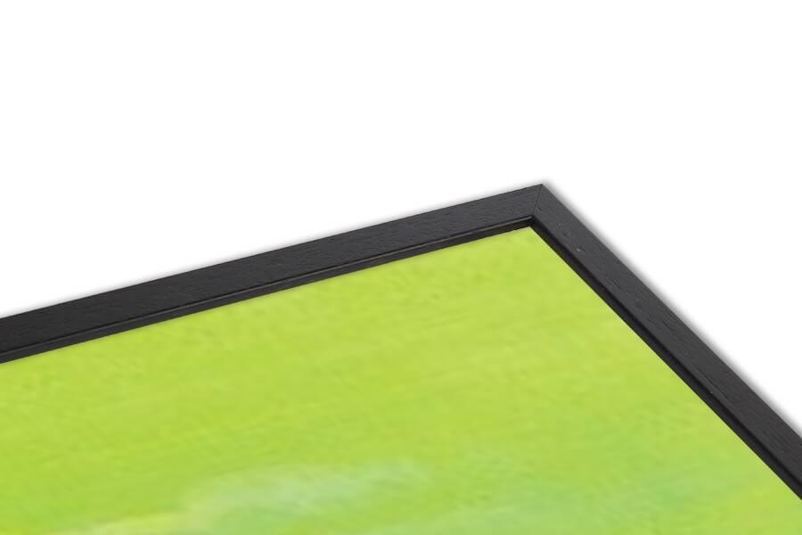 Green Sunset Art Print
