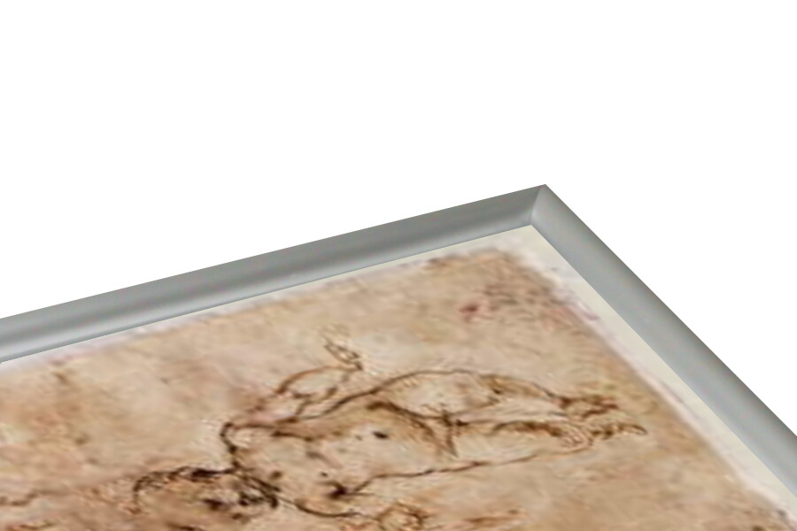 Fine Art Print W.4v Page of sketches of babies or cherubs