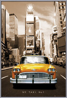 New York taxi no. 1 posters | photos | pictures | images