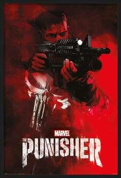 Framed Poster The Punisher - Aim