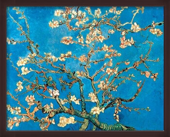Framed Poster Almond Blossom - The Blossoming Almond Tree, 1890