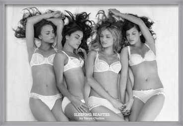 Sleeping beauties - Tanya Chalkin Poster