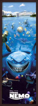 FINDING NEMO - one sheet Poster