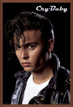 CRY BABY - Depp portrait Poster