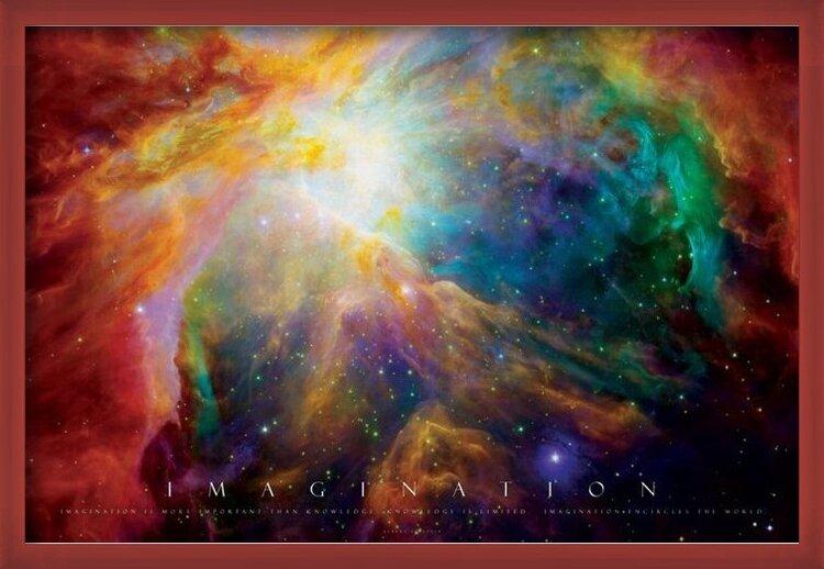 Imagination - nebula Poster