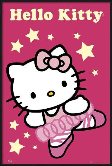HELLO KITTY - ballerina Poster