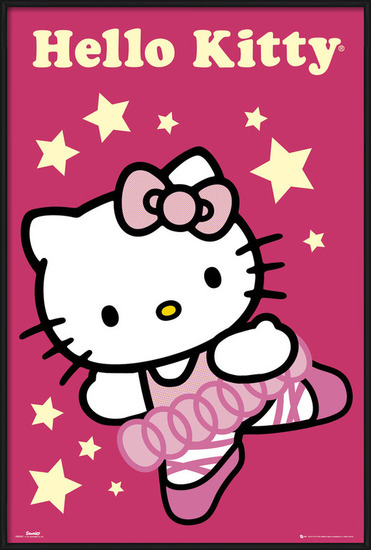 HELLO KITTY - ballerina Poster