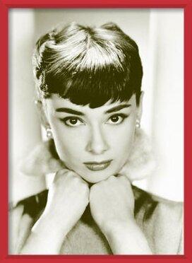 Audrey Hepburn - sepia Poster