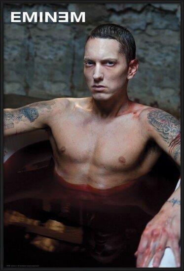 Eminem - bath Poster
