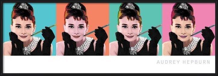 AUDREY HEPBURN - pop art 4 Poster