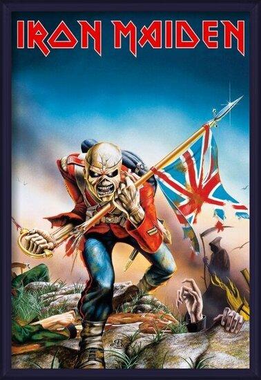 IRON MAIDEN - trooper Poster