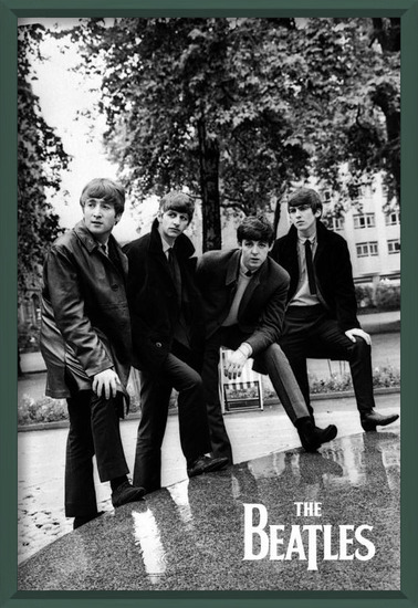 The Beatles - Pose Poster