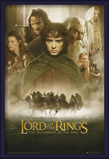 LORD OF THE RINGS - fellowship Poster