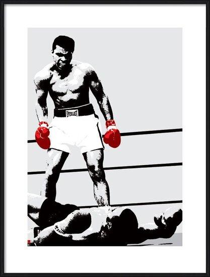 Muhammad Ali - Gloves Art Print