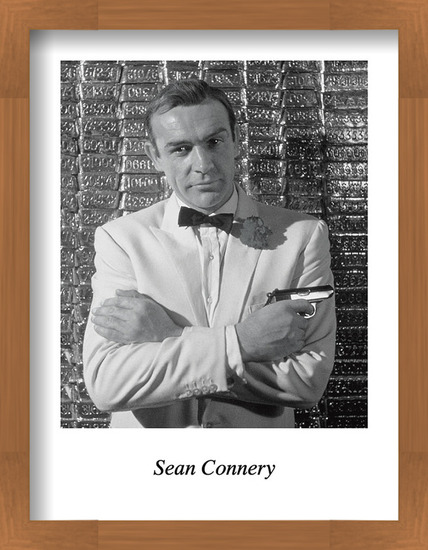SEAN CONNERY Art Print