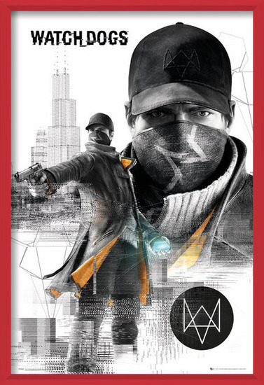 Watch dogs - city Poster