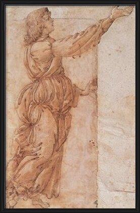 Angel - Angelo annunciante Art Print
