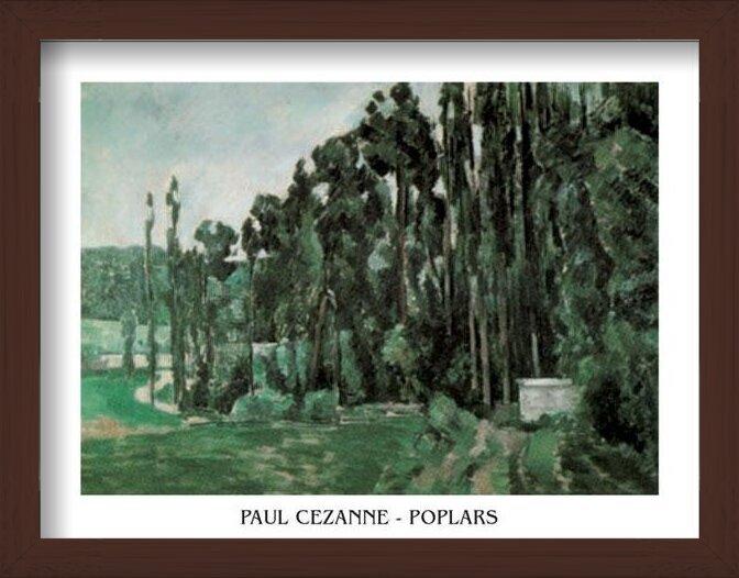 Poplars Art Print