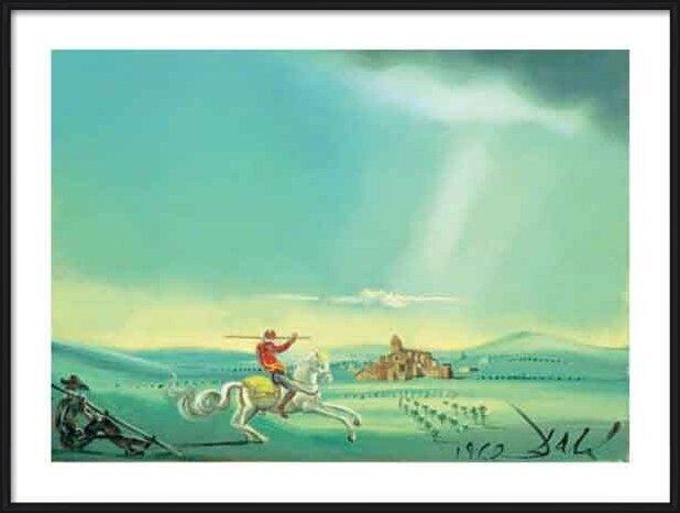 Saint George and the Dragon, 1944 Art Print