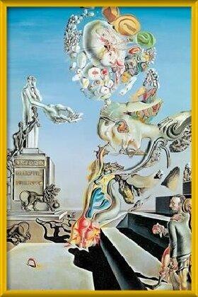 The Lugubrious Game, 1929 Art Print