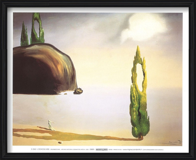 The Echo of the Vold, 1935 Art Print