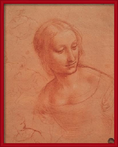 Portrait of a Young Woman - Busto di giovane donna Art Print