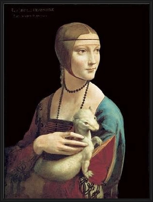 The Lady With the Ermine Art Print