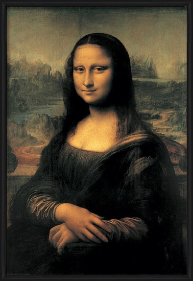 Mona Lisa (La Gioconda) Art Print