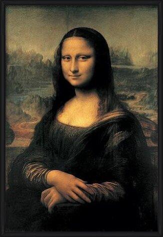 Mona Lisa (La Gioconda) Art Print