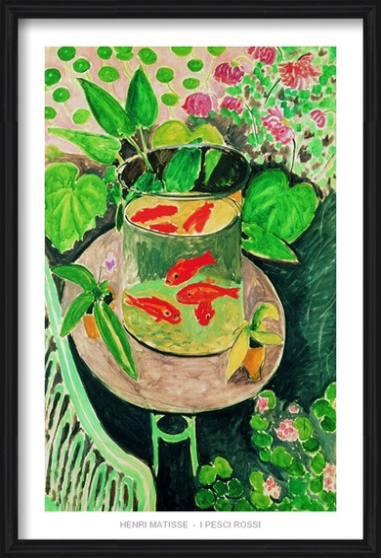The Goldfish, 1912 Art Print