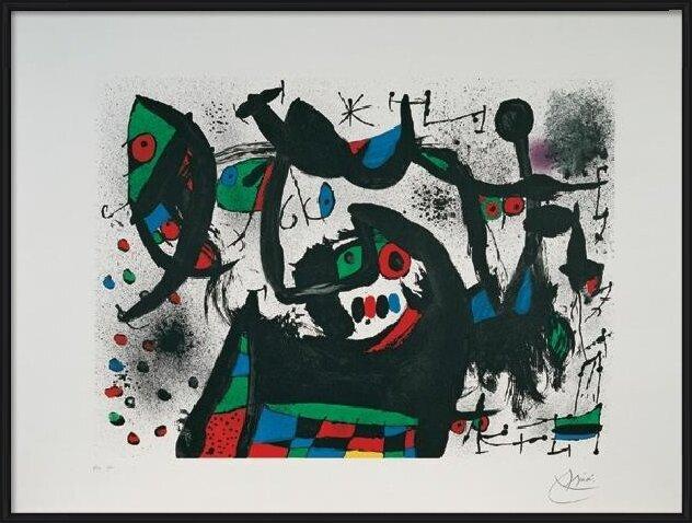 Homage to Joan Prats, 1975 Art Print