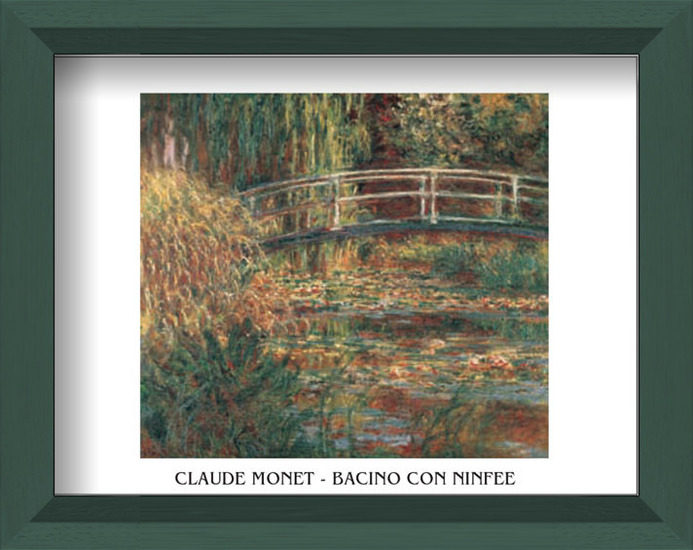The Water-Lily Pond Art Print