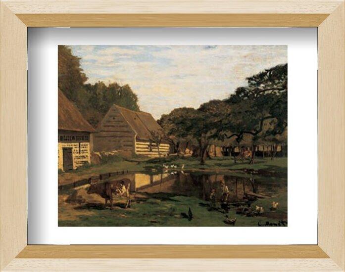 A Farmyard In Normandy Art Print