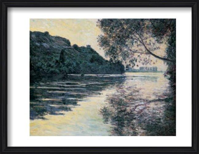 The Sun on The Seine Art Print