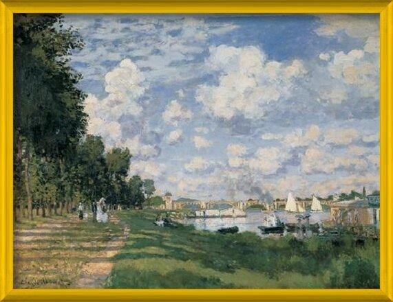The Seine Basin at Argenteuil Art Print