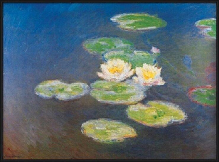 Water Lilies, 1914-1917 (part.) Art Print