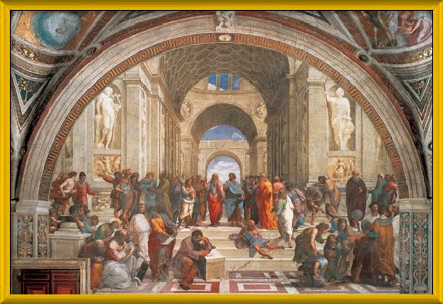 Raphael Sanzio - The School of Athens, 1509 Art Print