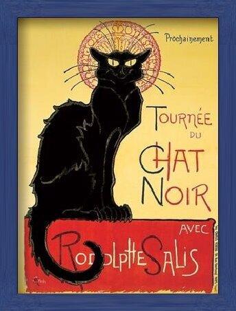 Tournée de Chat Noir - Black Cat Art Print
