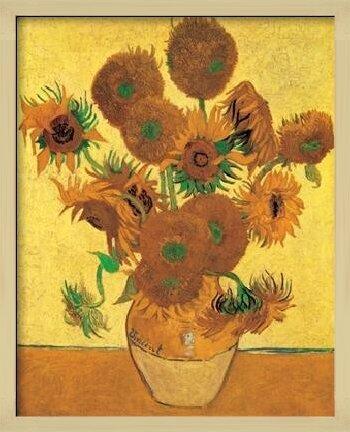 Sunflowers, 1888 Art Print