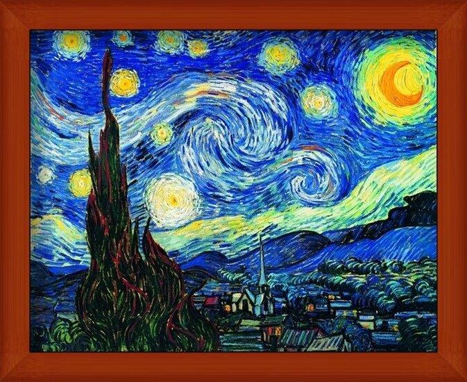 The Starry Night, 1889 Art Print