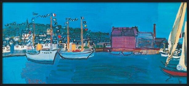 14.července 1933 v Deauville - 14 July 1933 in Deauville Art Print