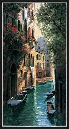Venetian reflections Art Print