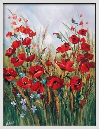 Poppies Art Print