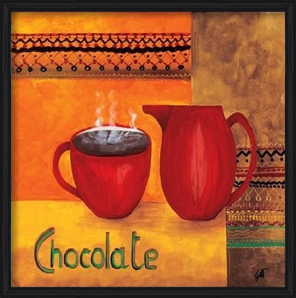 Chocolate Art Print