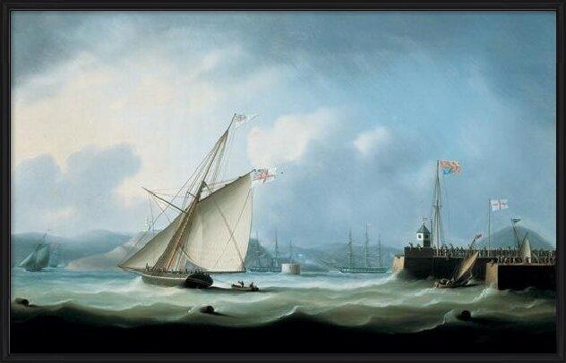 Leith Harbour Art Print
