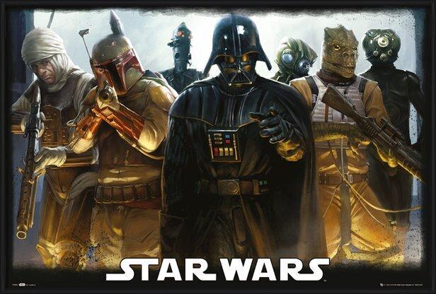STAR WARS - Bounty Hunters Poster