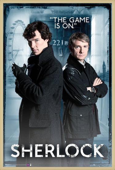 SHERLOCK - Door Poster