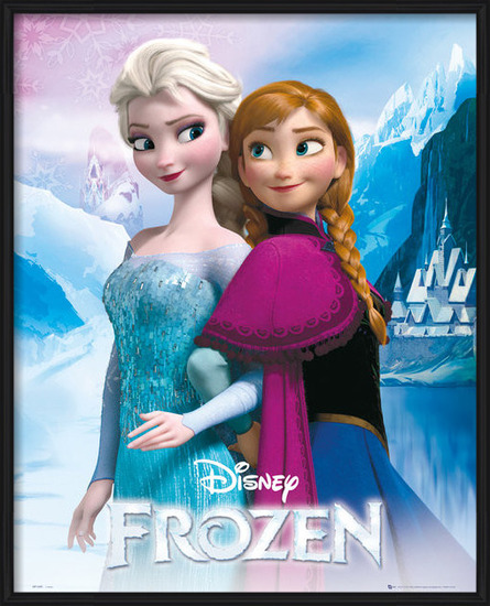 Frozen - Elsa and Anna Poster