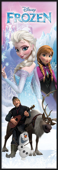 Frozen - Anna and Elsa Poster